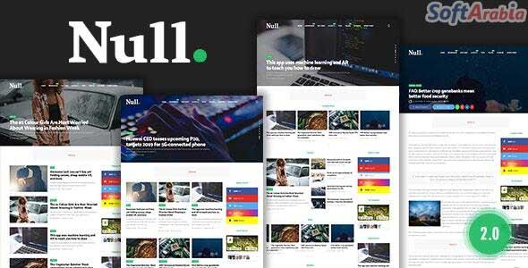 تحميل أفضل قوالب بلوجر للأخبار معربة 2021 مجانية جاهزة لمواقع الأخبار