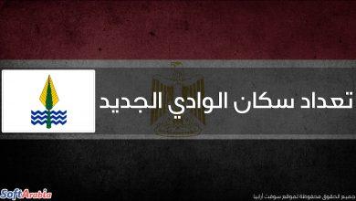 عدد سكان محافظة الوادي الجديد